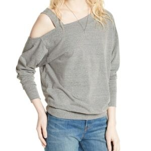 Free People Saratoga One Shoulder Top Size Large